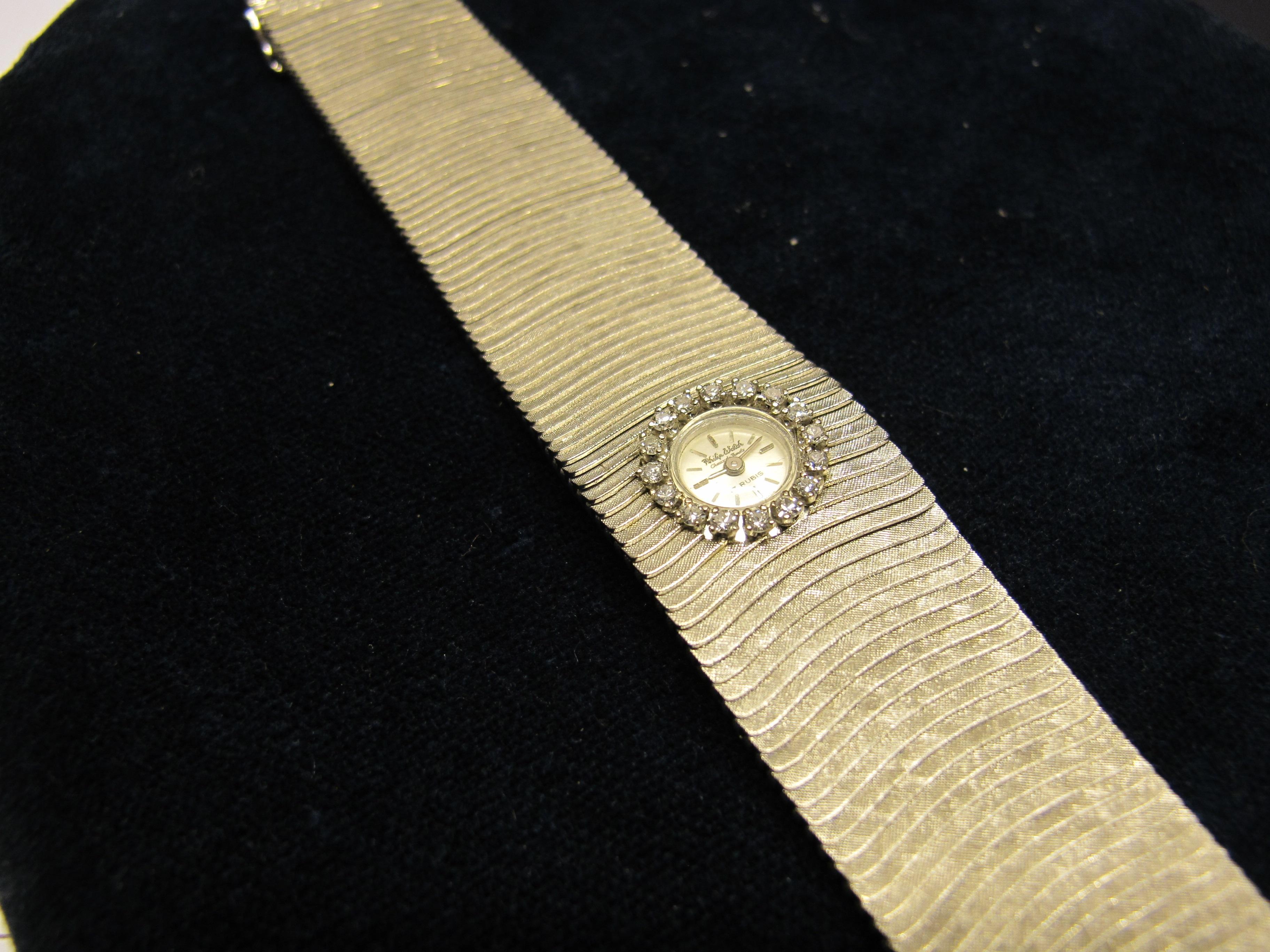 1 orologio philip watch fascia  oro bianco