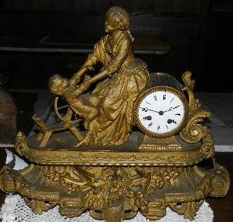 orologio da tavolo donna con bimbo2185