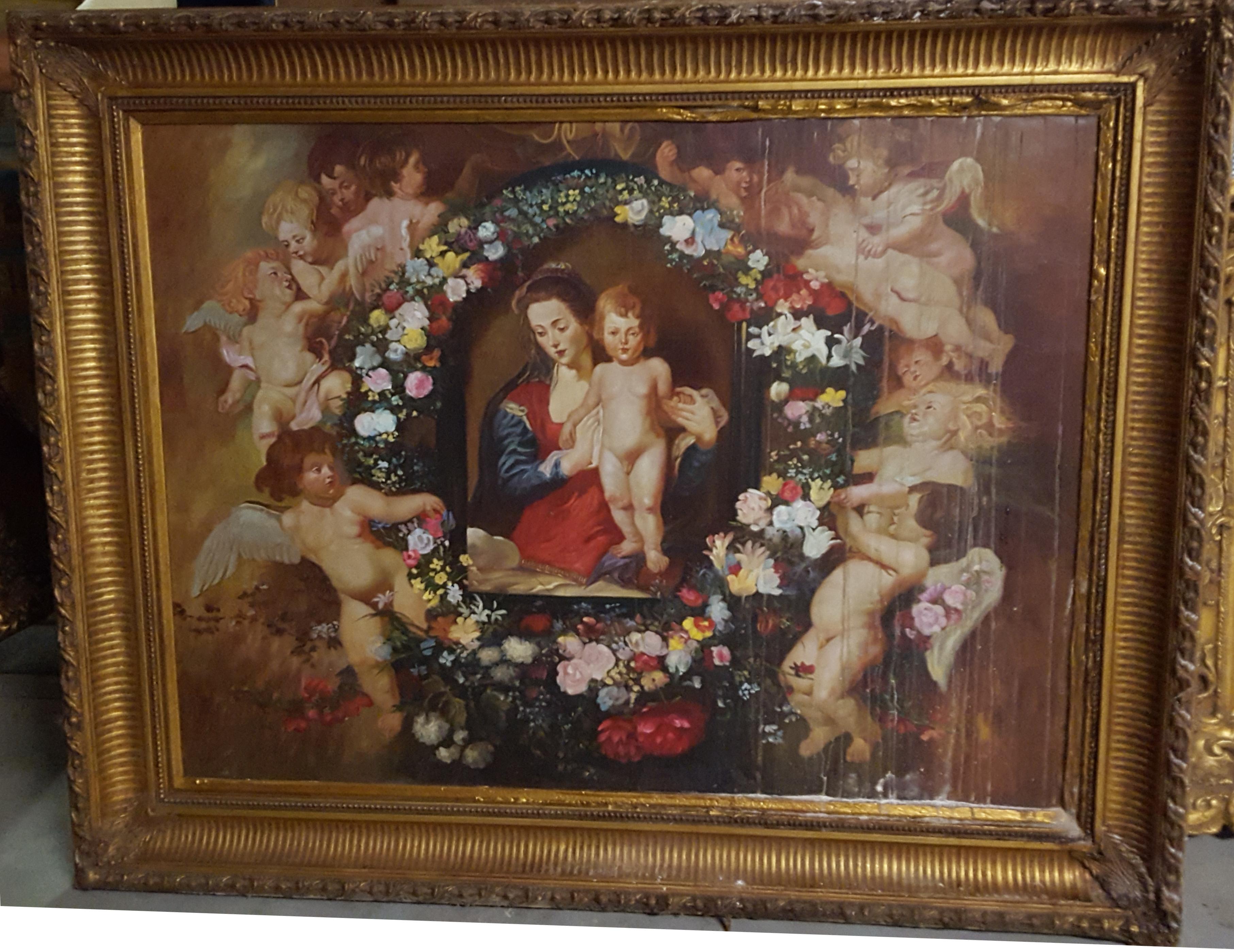 28 Madonna delle ghirlande